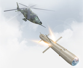 LIGHT ARMED HELICOPTER AIR-TO-SURFACE MISSILE